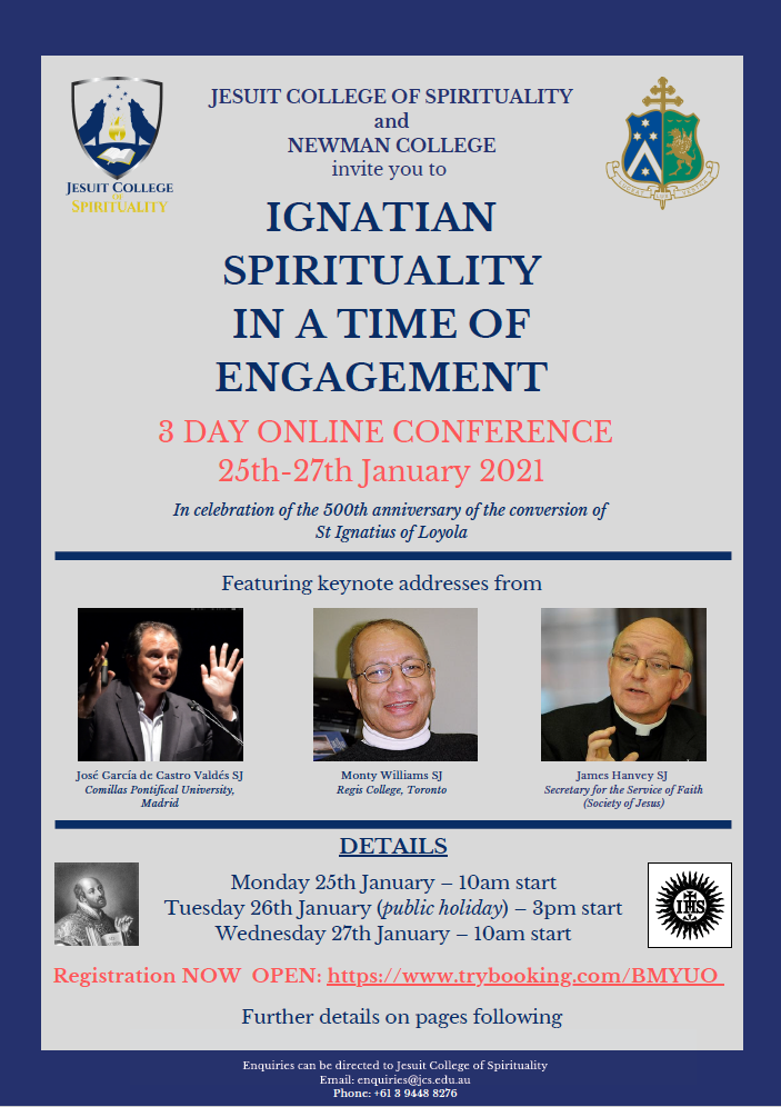 Spirituality in a Time of Engagement Online Conference – Get your Tickets NOW !